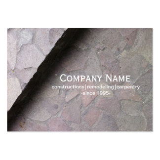 Rock Constructions Business Card Templates