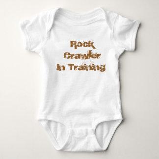 Rock Crawler In Traing infant wear Baby Bodysuit