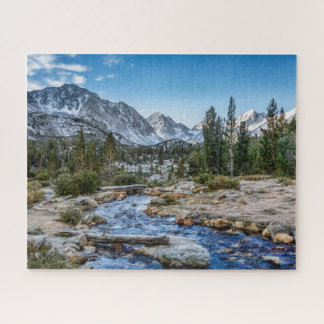 Rock Creek, Little Lakes Valley Jigsaw Puzzle