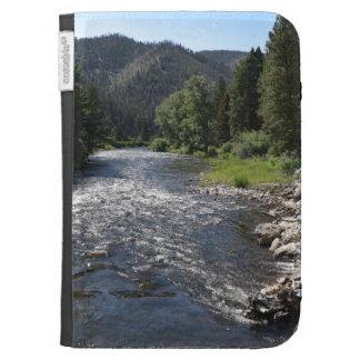 Rock Creek Montana Kindle Case