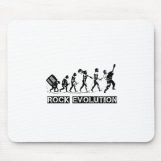 Rock Evolution funny design Mouse Pad