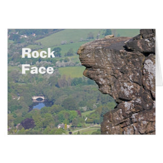 Rock Face card