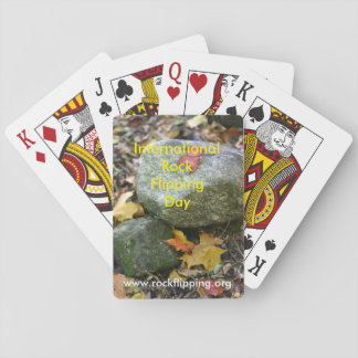Rock Flipping playing cards
