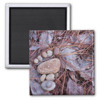 Rock Footprint Magnet