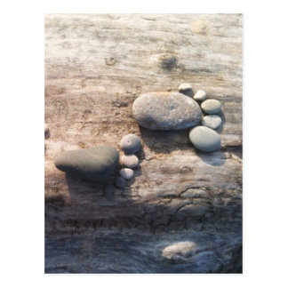 Rock Footprints Postcard