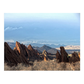 Rock Formations - Roxborough State Park Postcard