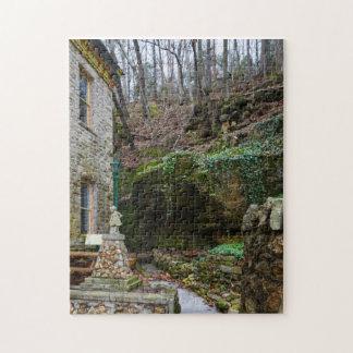 Rock Garden Patio Jigsaw Puzzle