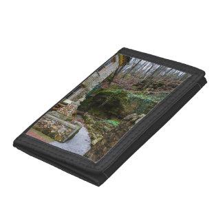 Rock Garden Patio Tri-fold Wallet