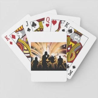 Rock Group Playing Cards