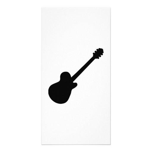 Rock Guitar Photo Greeting Card