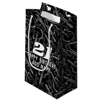 Rock guitar small gift bag