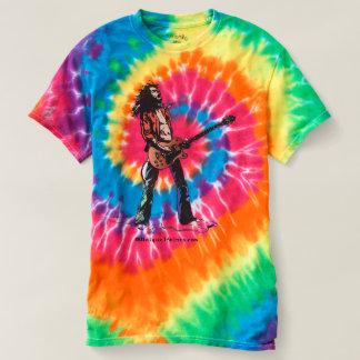 Rock Guitar Tie Dye T-Shirt