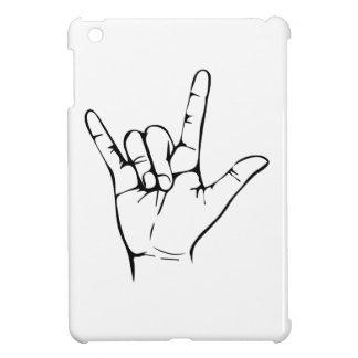 rock hand iPad mini cover