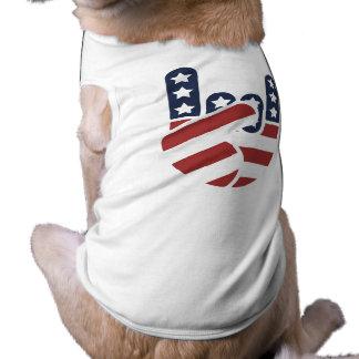 Rock Hand USA Pet Tee Shirt