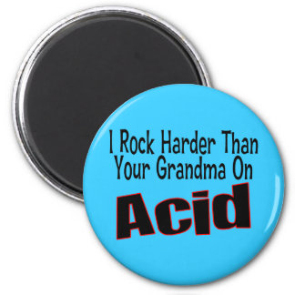 Rock Harder Magnet