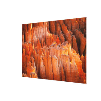 Rock Hoodoos in Morning Light Canvas Print