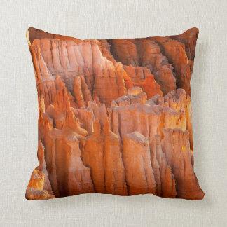 Rock Hoodoos in Morning Light Cushion