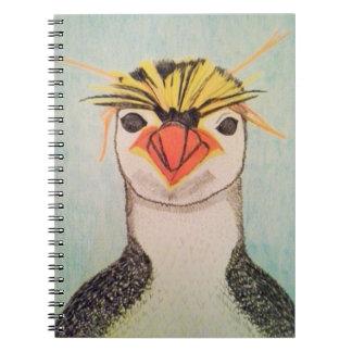 Rock Hopper Penguin Notebook