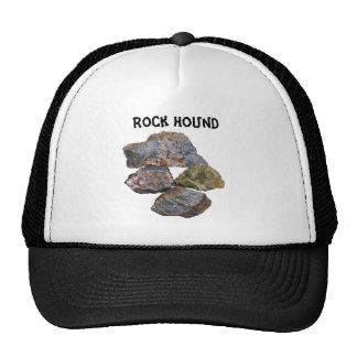 Rock Hound Mineral Collectors Funny Hat