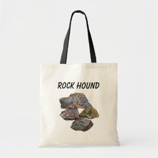 Rock Hound Mineral Collectors Tote Bag