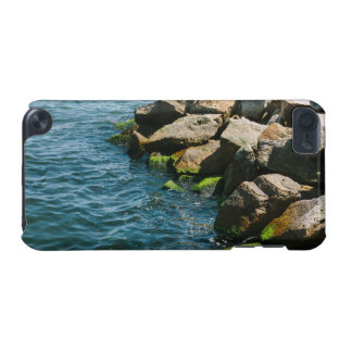Rock In A Blue Sea Landscape Photography iPod Touch (5th Generation) Cover