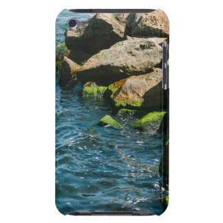 Rock In A Blue Sea Landscape Photography iPod Touch Cover