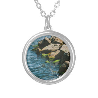 Rock In A Blue Sea Landscape Photography Jewelry