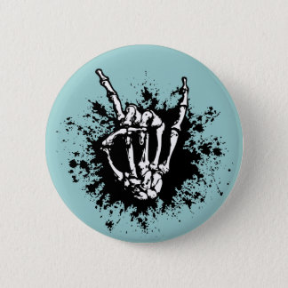 Rock in Bone 6 Cm Round Badge