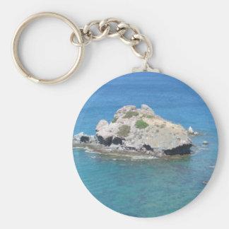 Rock in the Mediterranean Key Ring
