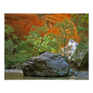 Rock in the River Photo Print