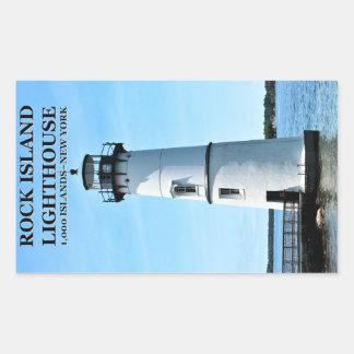 Rock Island Lighthouse, New York Stickers