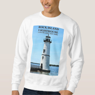 Rock Island Lighthouse, New York Sweatshirt