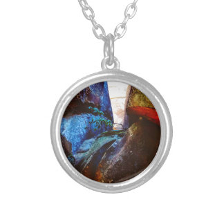 ROck Life Silver Plated Necklace