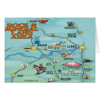 Rock & Mineral Card