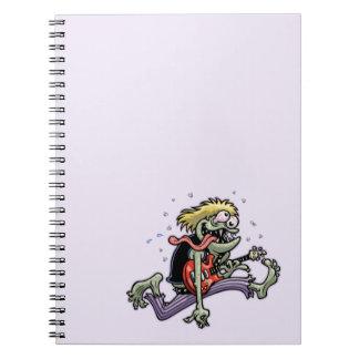 Rock Monster Spiral Notebook