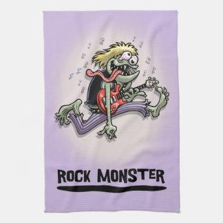 Rock Monster Tea Towel