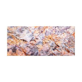 Rock Mosaic Canvas Print