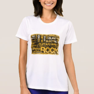 Rock Music Party Invitation as Poster Art T-Shirt