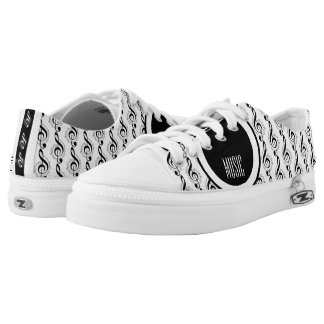 Rock My World | Guitar/Musical Notes Low Tops