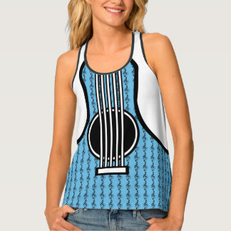 Rock My World | Guitar/Musical Notes Singlet