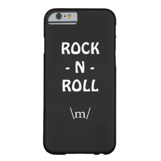 Rock n Roll Barely There iPhone 6 Case