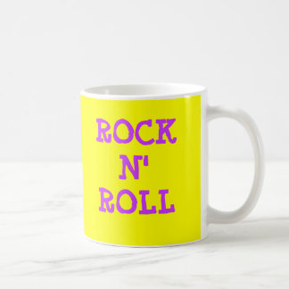 ROCK N' ROLL BASIC WHITE MUG
