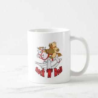 Rock 'n' Roll Basic White Mug
