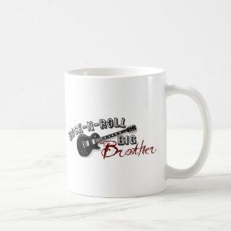 Rock-n-Roll Big Brother Basic White Mug