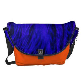 Rock n' Roll Blue & Orange Beast Large Messenger Commuter Bags