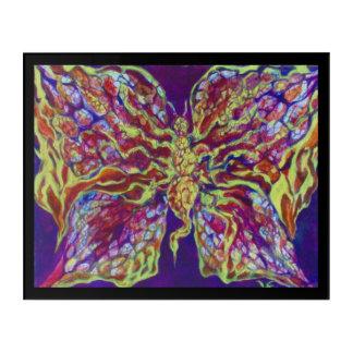 Rock N Roll Butterfly Acrylic Wall Art