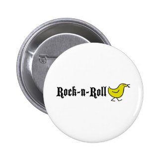 Rock-N-Roll Chick Pinback Buttons