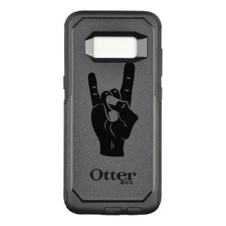 Rock n Roll Devil Horns OtterBox Commuter Samsung Galaxy S8 Case