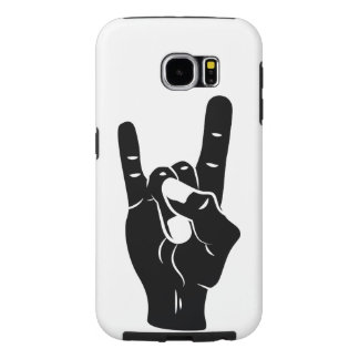 Rock n Roll Devil Horns Samsung Galaxy S6 Cases