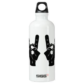 Rock n Roll Devil Horns Water Bottle